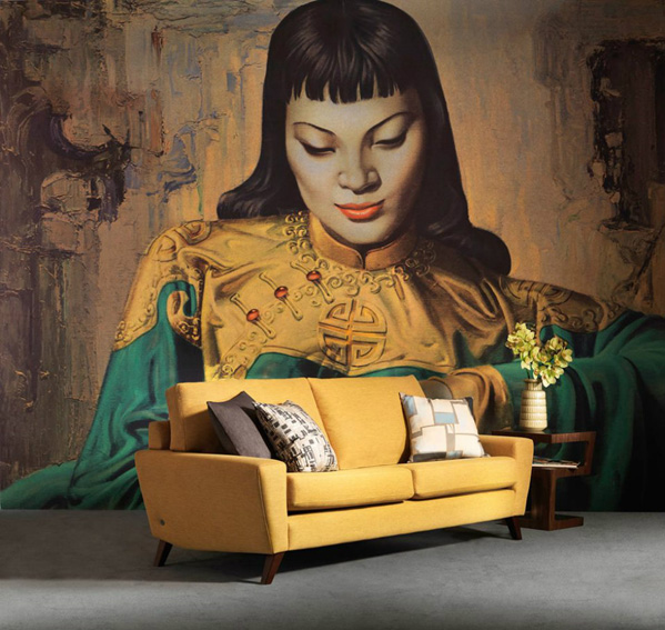 heminredning, konst på väggen, sköna kuddar, Soffa, inreda vardagsrum, inreda enhetligt, elegant inredning, matta