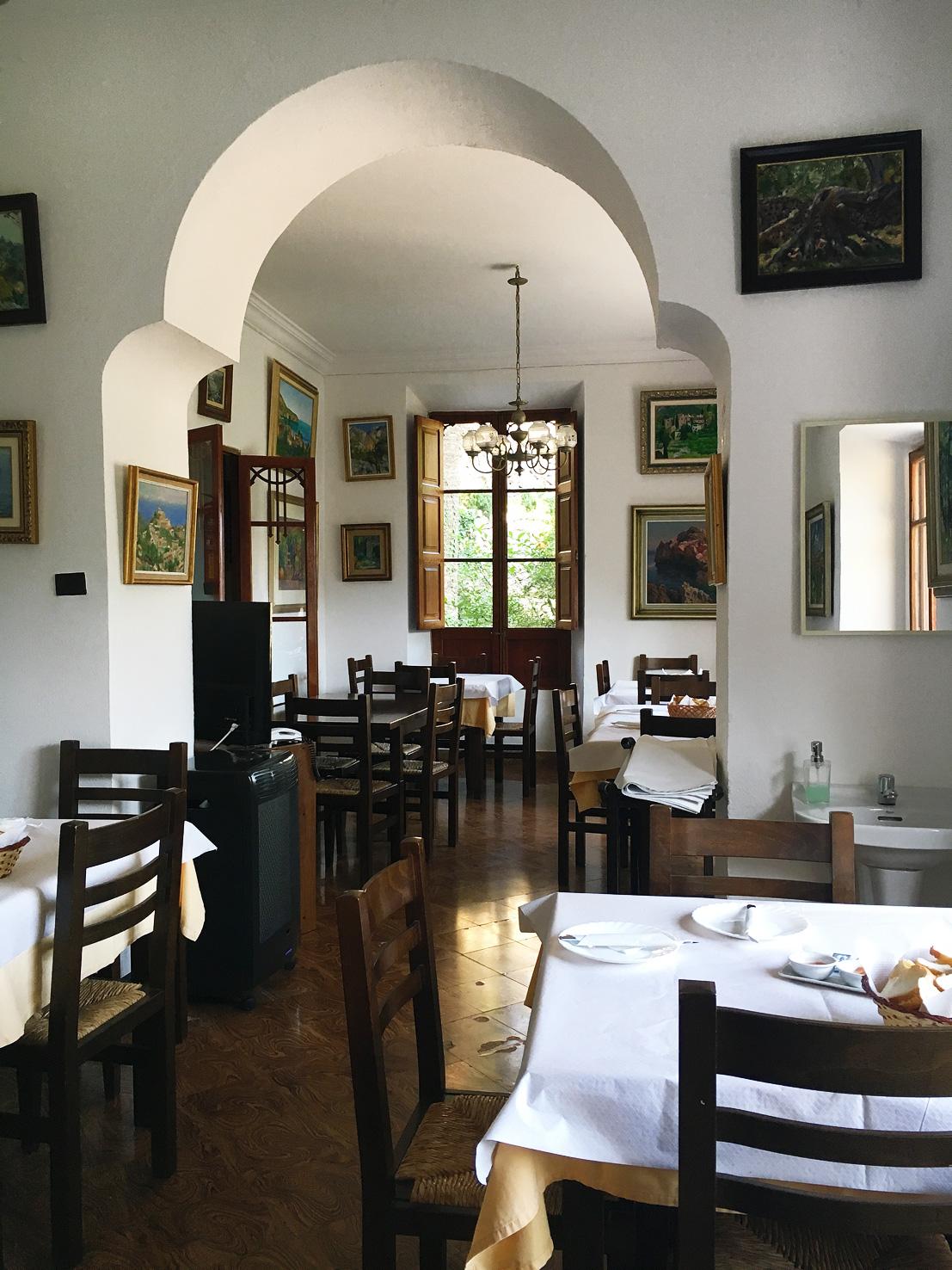 Frukost på Hotel Miramar, Deia, Mallorca