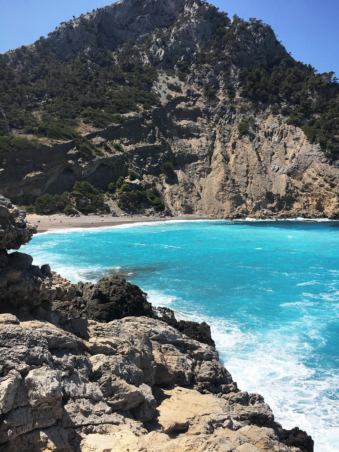 Cala coll baix, Mallorca.