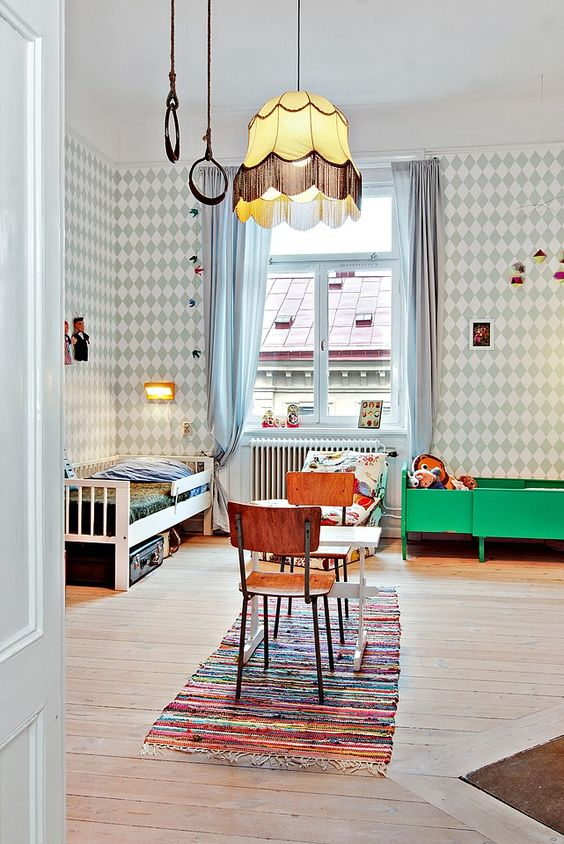 lampor, belysning barnrum, taklampa sovrum