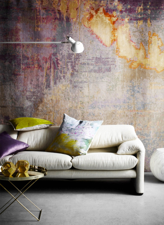 living, inredningsdesign, färgval