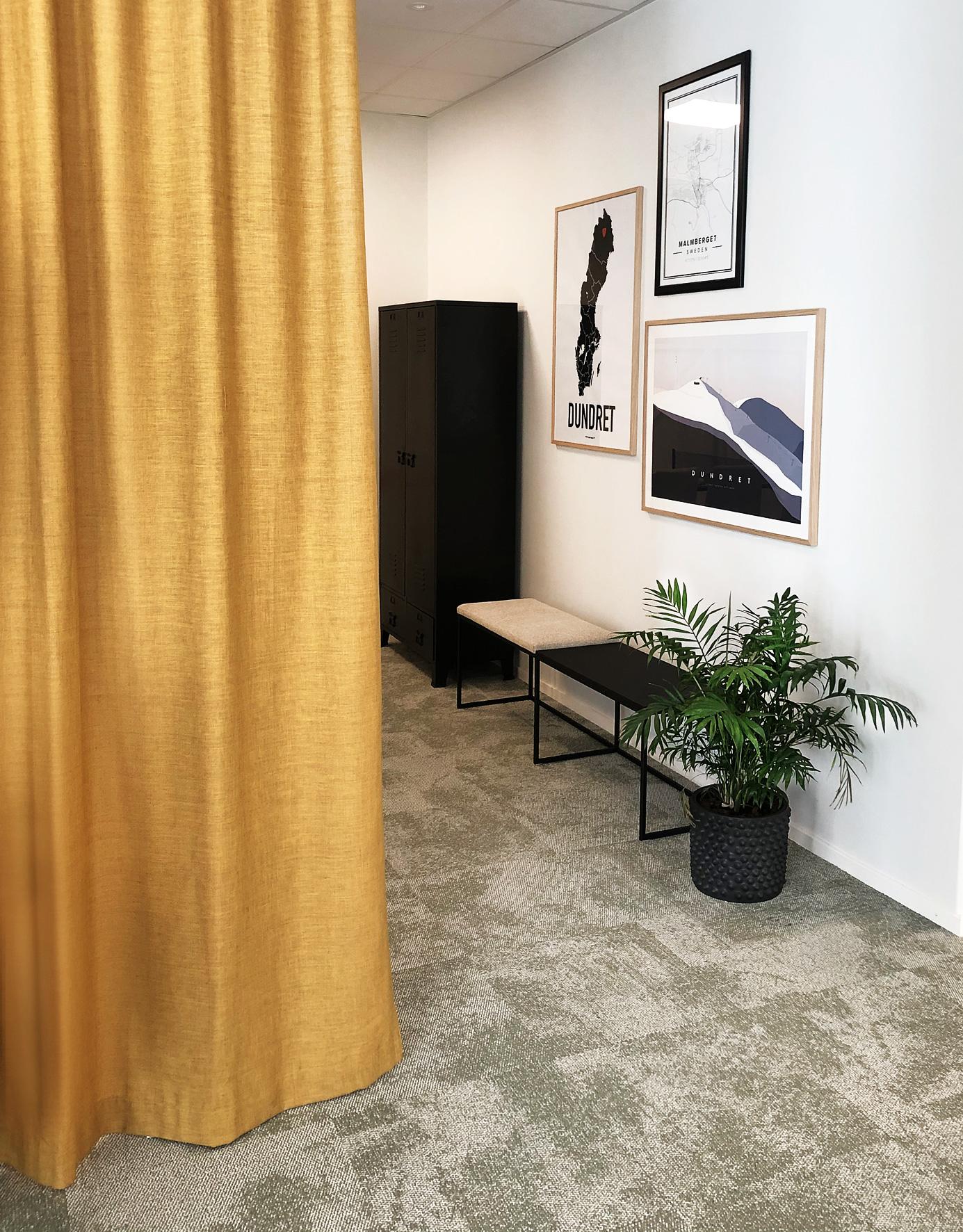 Relaxavdelning kontor Täby